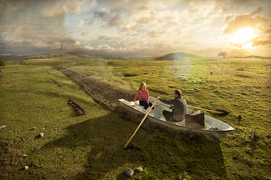 Эрик Йоханссон, фотография, ретуширование, Groundbreaking