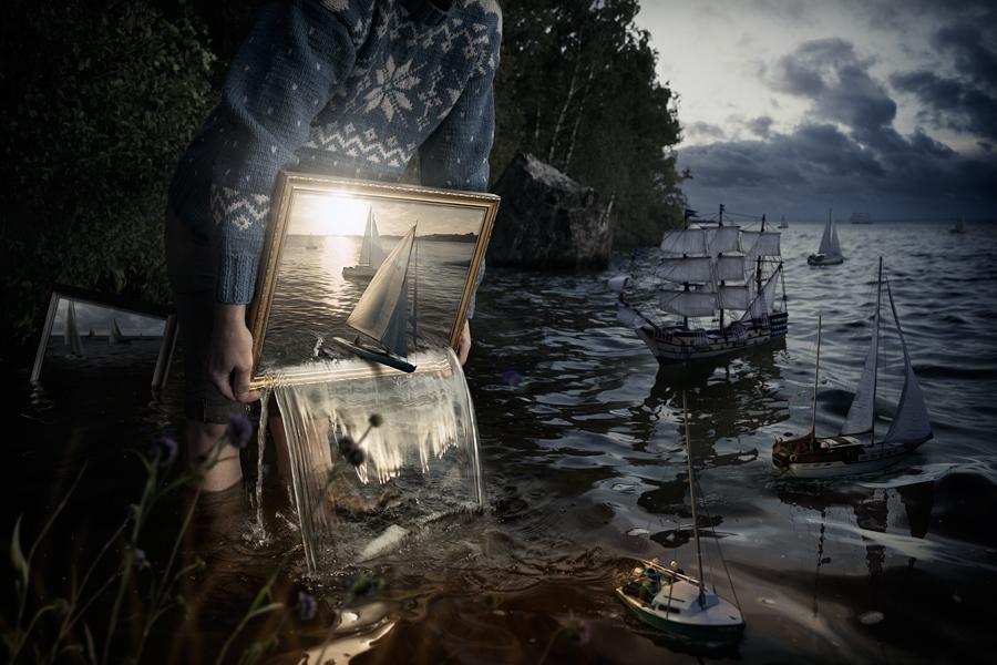 Эрик Йоханссон, фотография, ретуширование, Set them free