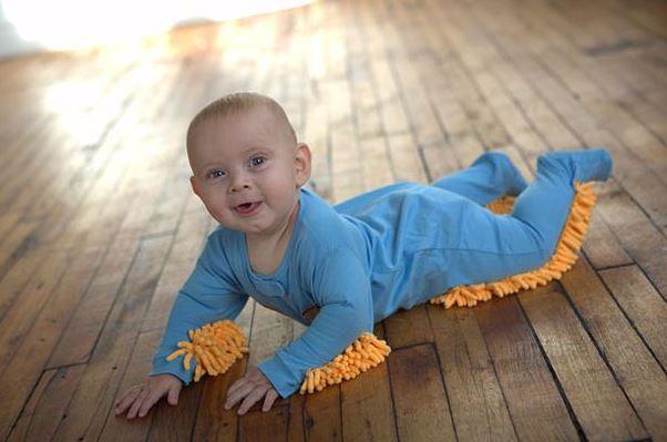 baby mop, странно, ребенок, ползунки