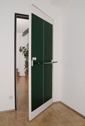 дверь, пинг-понг, настольный теннис