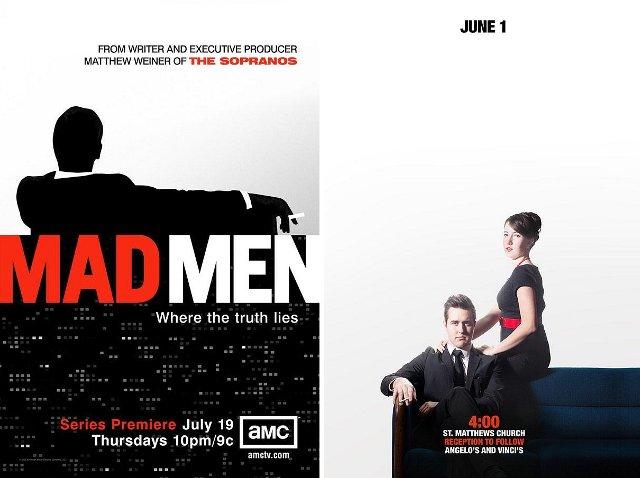 Madmen, безумцы, постер, свадебные приглашения