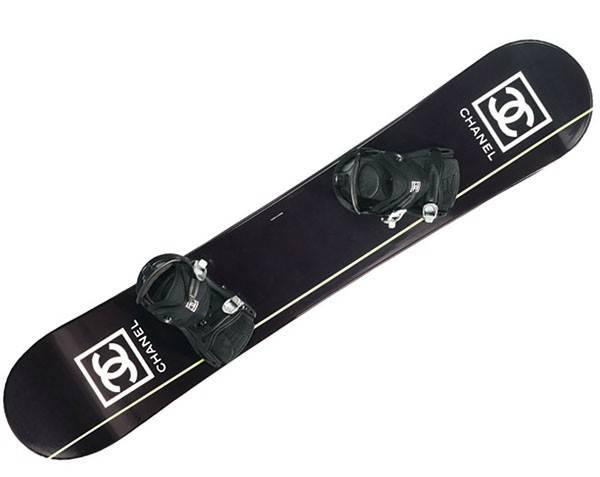 chanel, snowboard, сноуборд