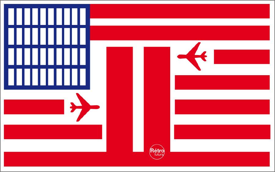 Стефан Масса-Бидаль, Rétrofuturs, флаг США, 11 сентября, обложка