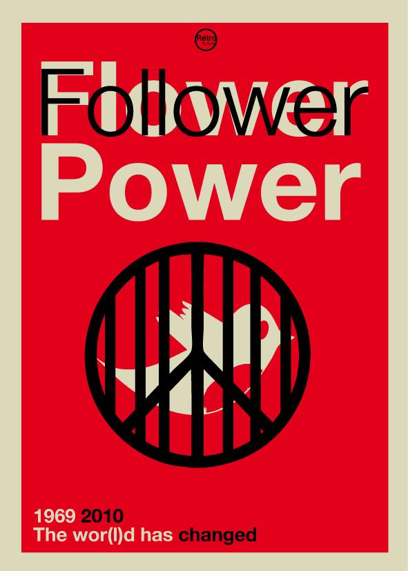 follower, Стефан Масса-Бидаль, Rétrofuturs, плакат, The wor(l)d has changed, твиттер