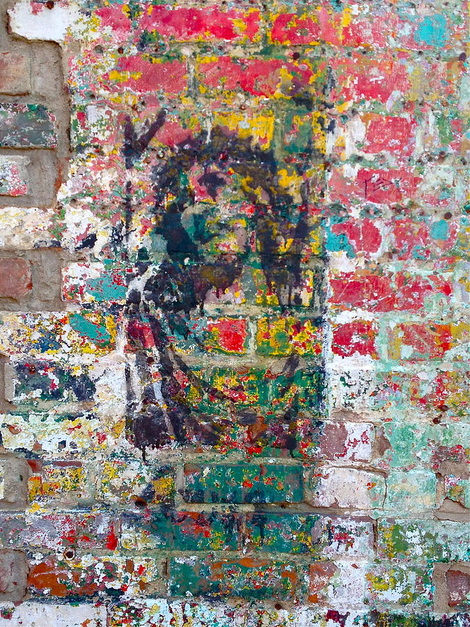 Иисус граффити