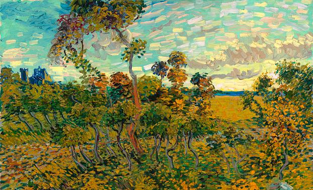 Новая картина Ван Гога