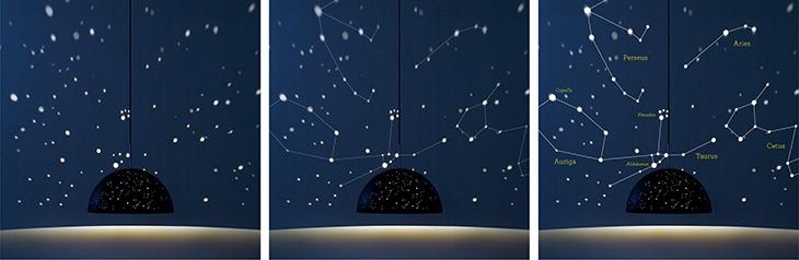 starry light lamp