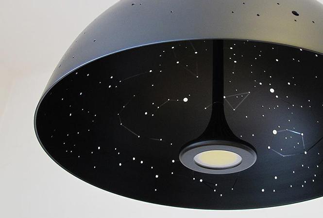 Звёздное небо над головой: лучшие дизайнерские лампы из интернета