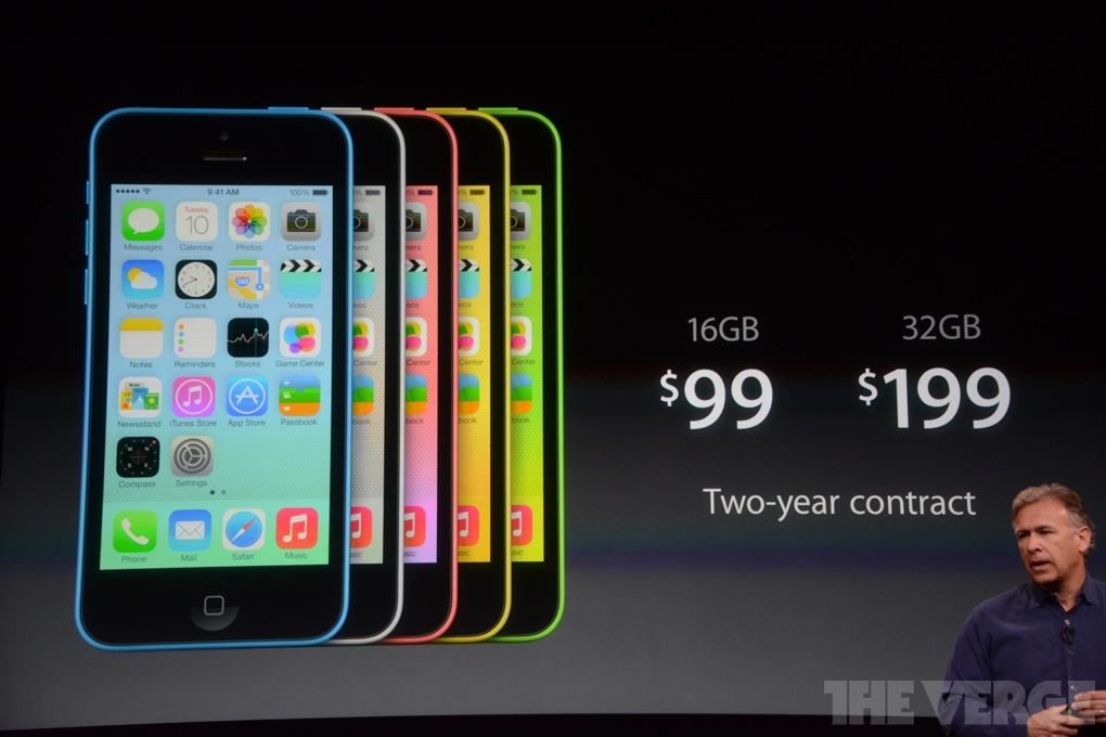 Презентация iPhone 5C