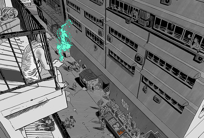 Подумай о городе: фантастический урбанизм от комикс-художников