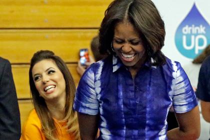 Мишель Обама призвала американцев больше пить