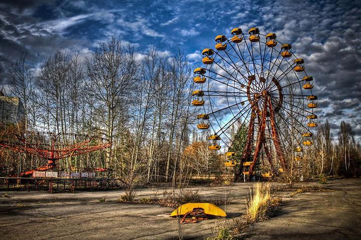 заброшенное место, Припять, Украина