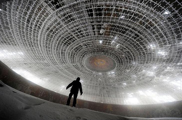 заброшенное место, Болгария, здание партии