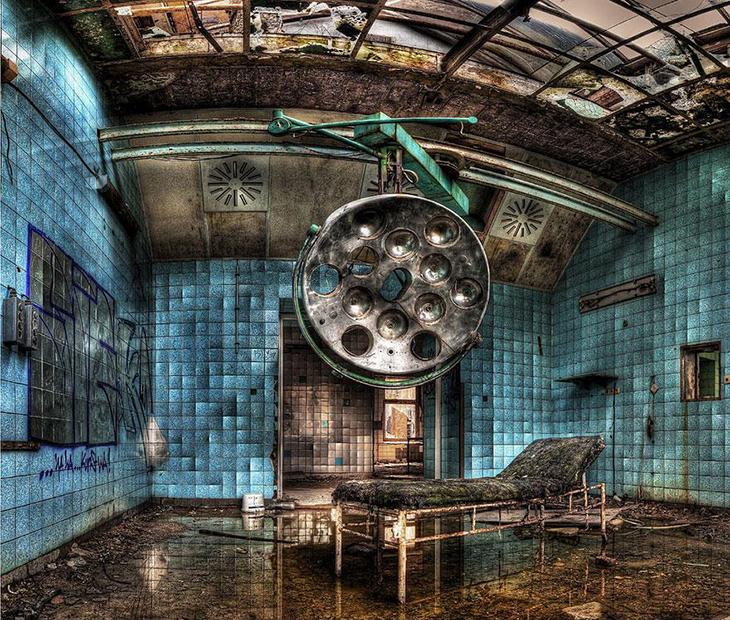 заброшенное место, госпиталь, Германия, Гитлер