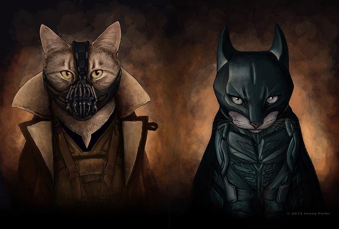 Коты масскульта