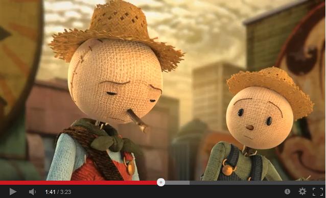 Анимационный фильм «Страшила» о здоровой еде и фастфуде