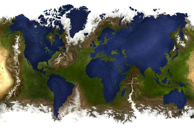 Карты мира для взрослых: по ним не учат в школе