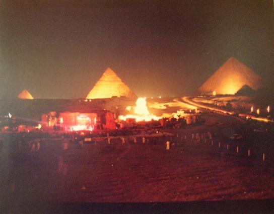 Grateful Dead, пирамиды Гизы, концерт, Египет