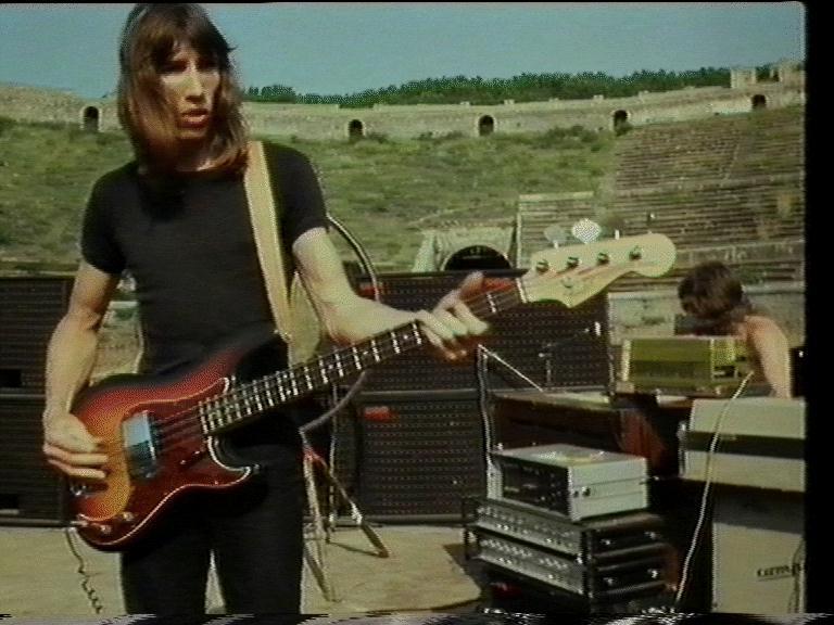 Pink Floyd, руины Помпеи, концерт