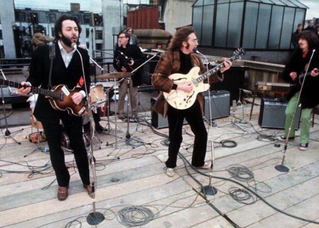 The Beatles, концерт на крыше, битлы, №3 Севиль Роу