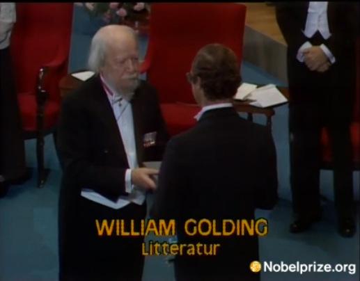 Лауреат Нобелевской премии по литературе, Уильям Голдинг
