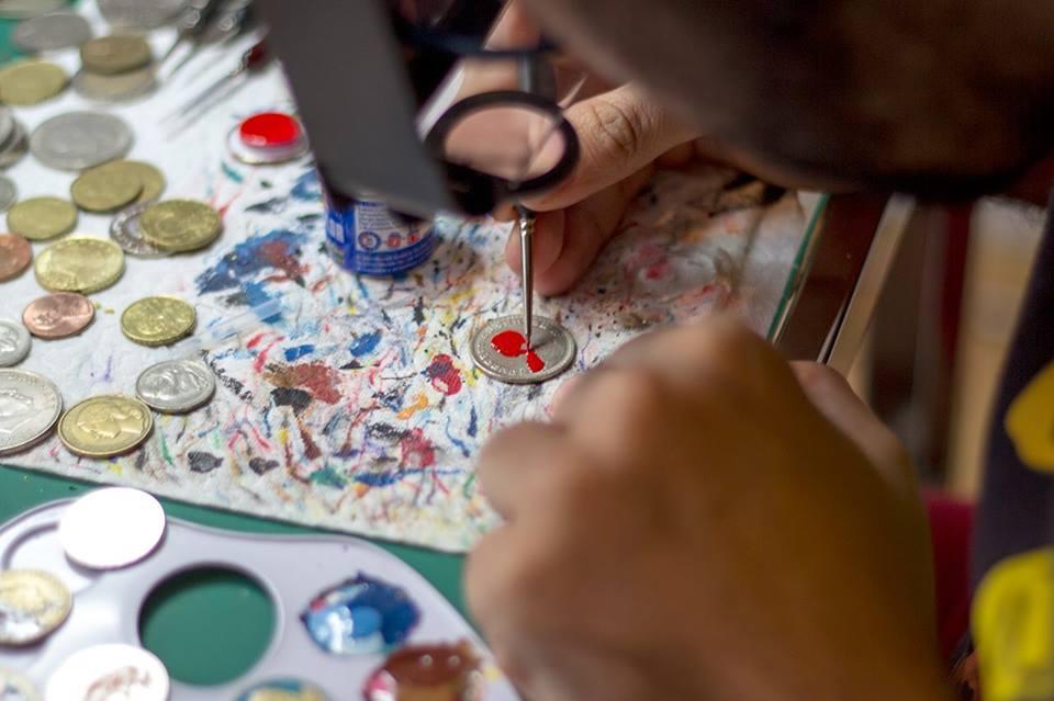 Андре Леви, Tales You Loses, монеты, рисунки, супергерои