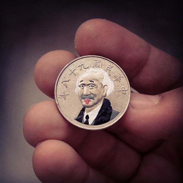 Андре Леви, Tales You Loses, монеты, рисунки, альберт эйнштейн