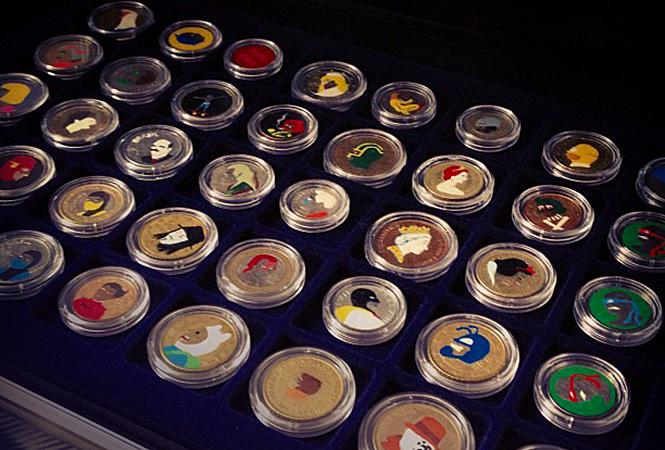 Вся супергеройская рать на монетах