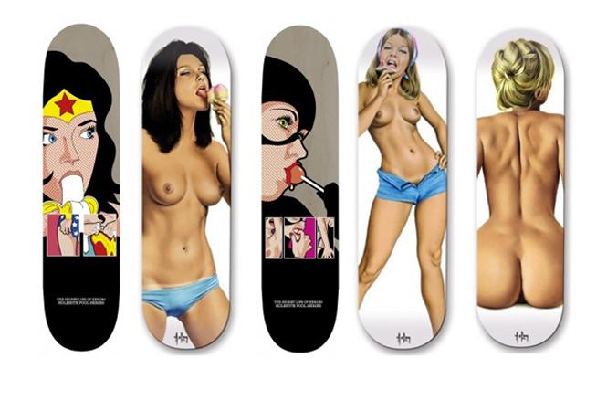 Прокатись на мне: сексуальные скейты