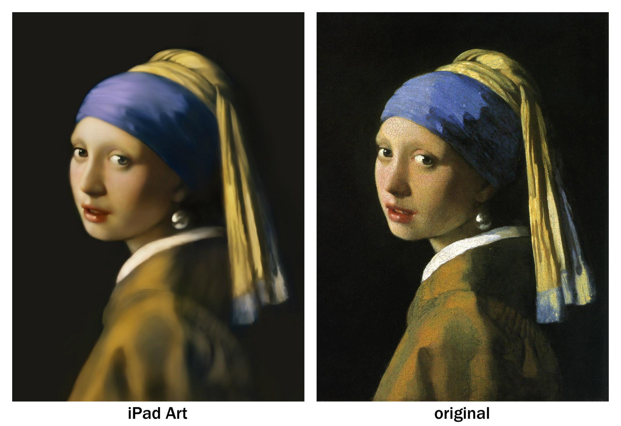 Японский служащий Сейку Ямаока, художник, iPad, iPhone