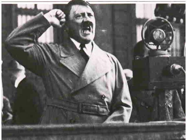 Гитлер, художник, политик