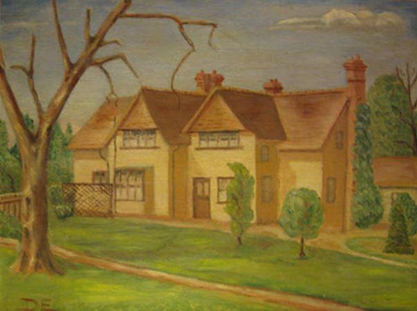 эйзенхауэр, президент америки, художник, картины, дом