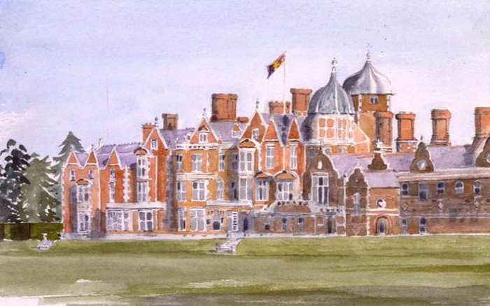 принц чарльз, великобритания, картины, художник, дом