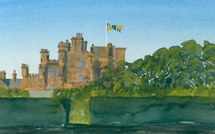 принц чарльз, великобритания, картины, художник, замок