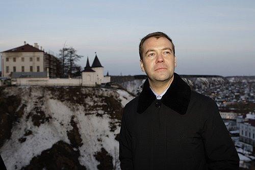 медведев, премьер-министр, фотография