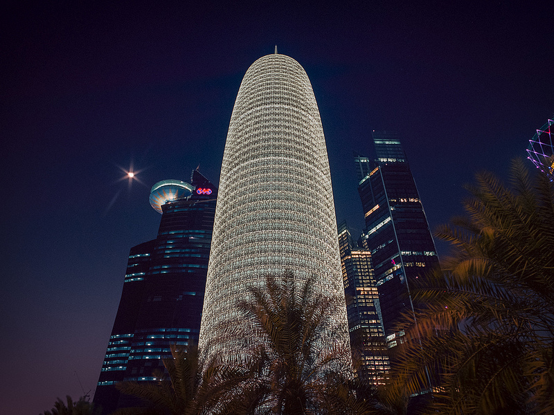 Burj Qatar, Катар, Доха, Луший небоскреб