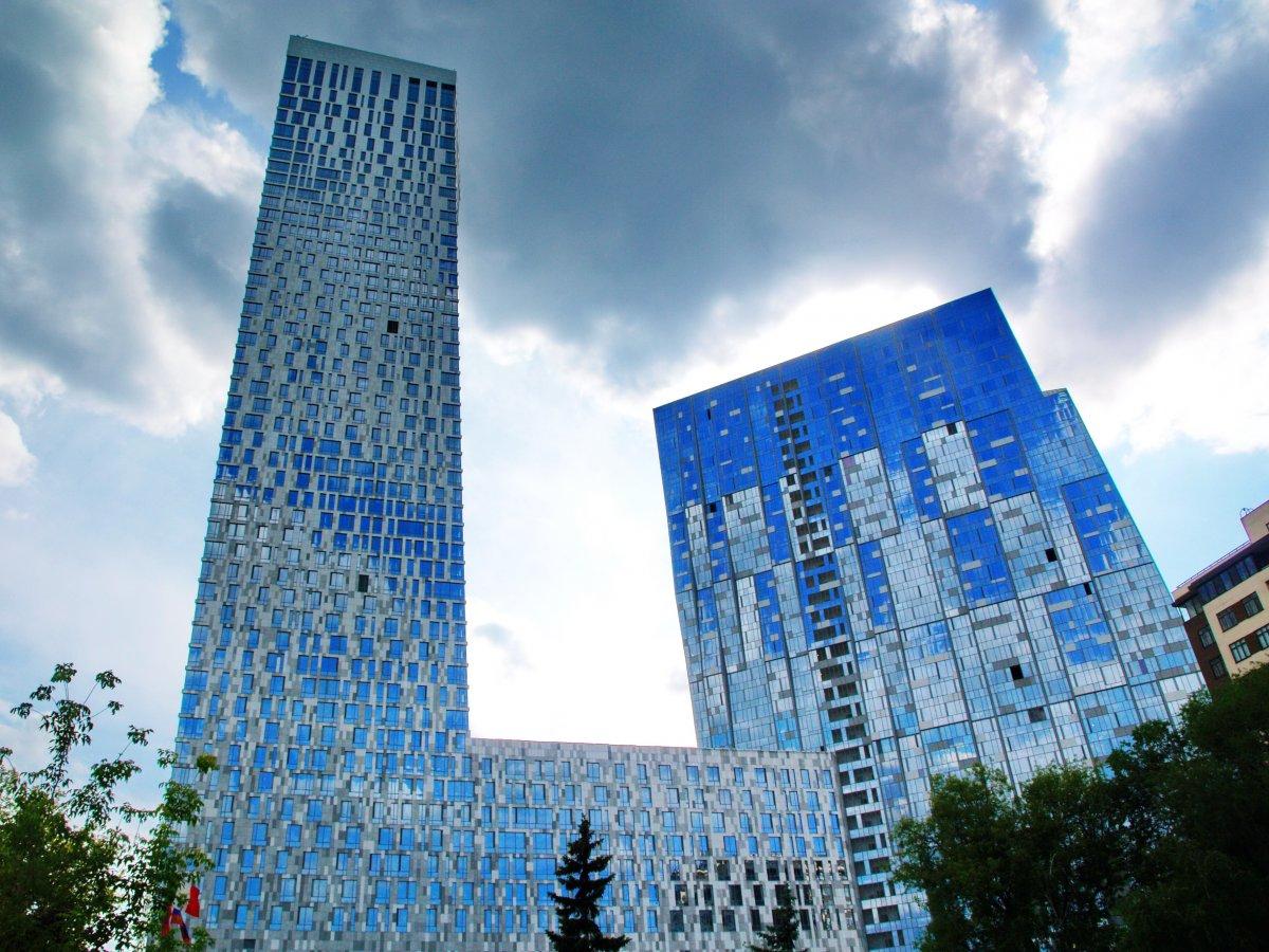 Москва, Россия, Мосфильмовская улица, лучший небоскреб