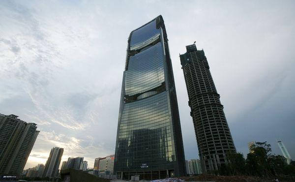 Pearl River Tower, Китай, лушчий небоскреб