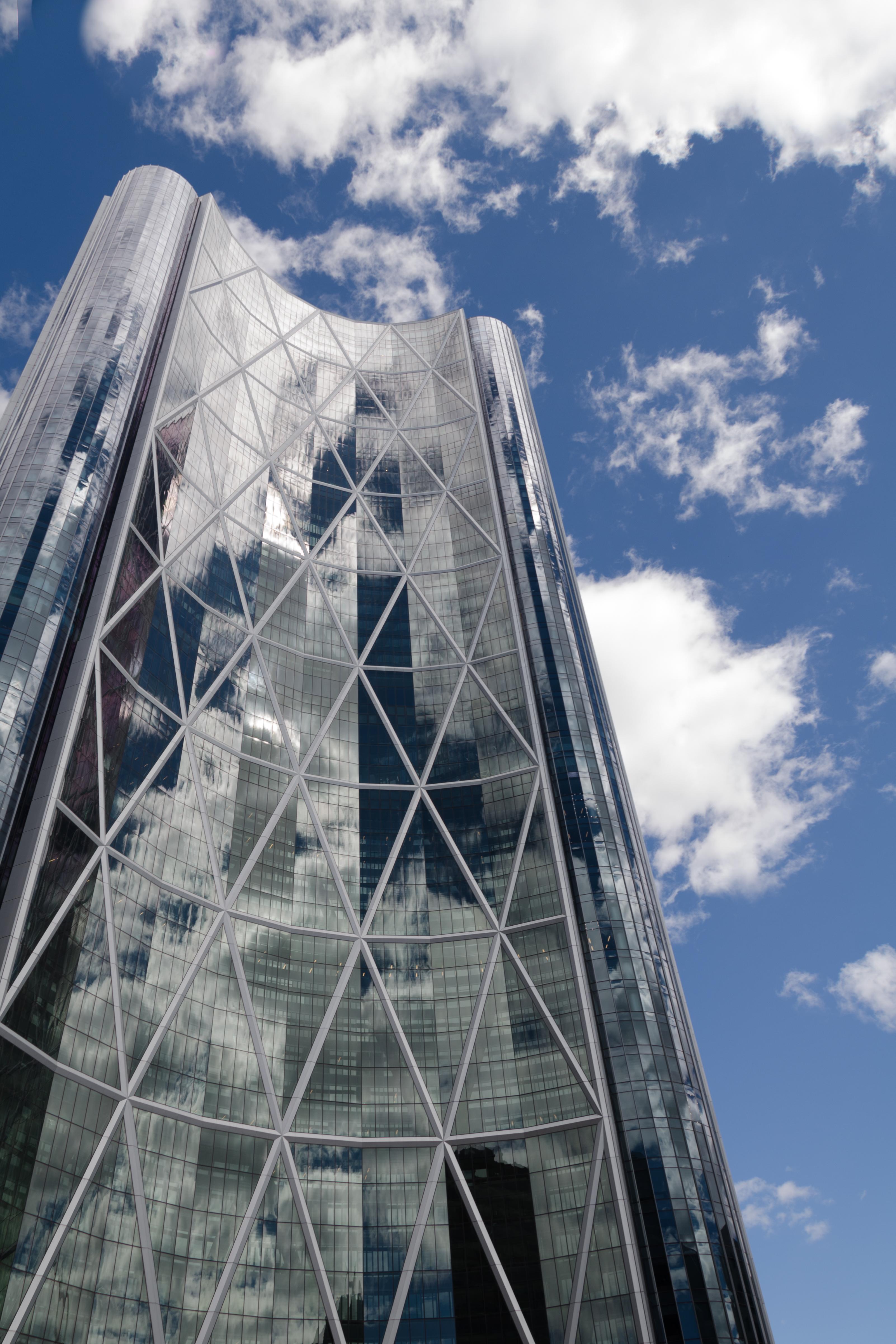 The Bow башня, Калгари, Канада, лучший небоскреб