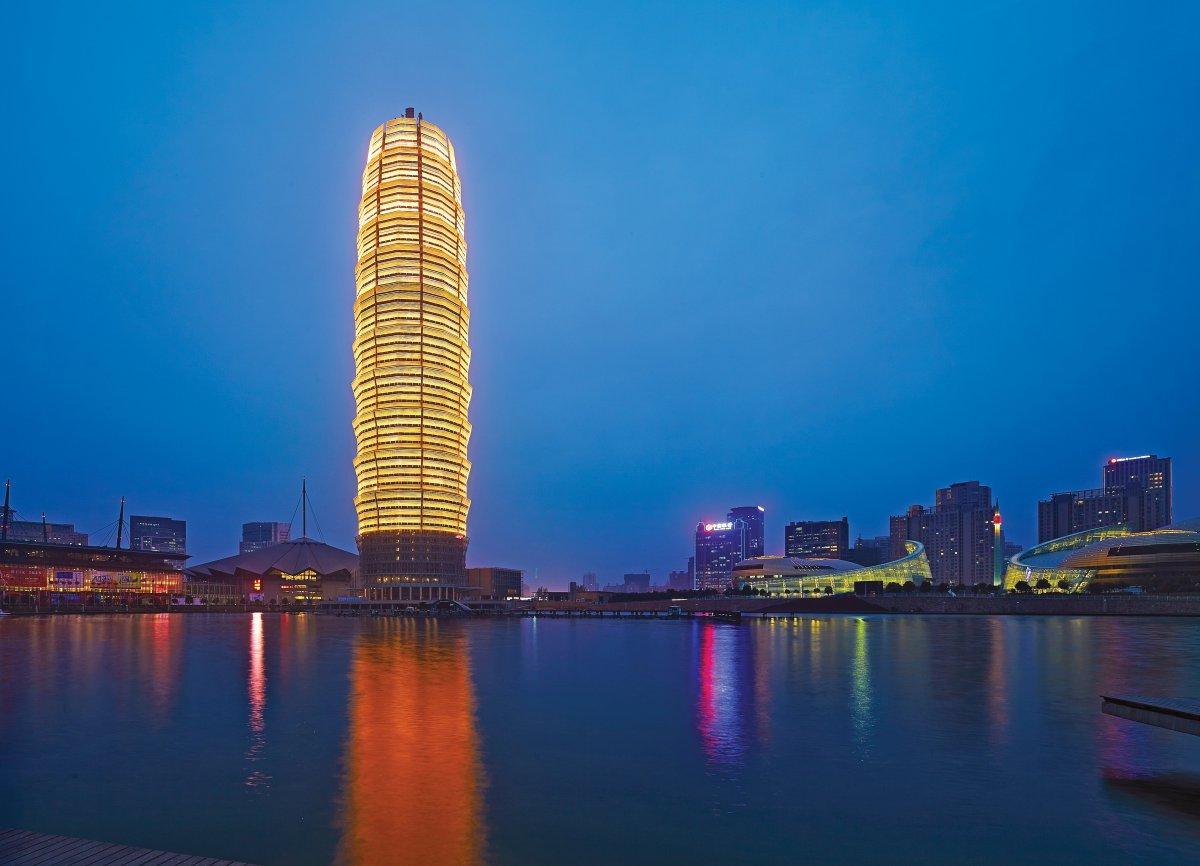 Zhengzhou Greenland Plaza, Китай, лучший небоскреб