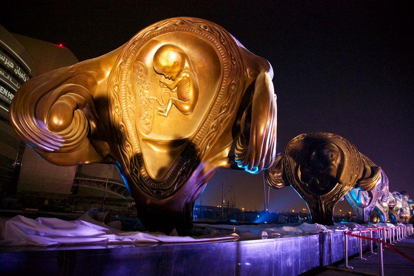 Дэмиен Херст, Катар, Доха, The Miraculous Journey, Чудотворное путешествие, эмбрион