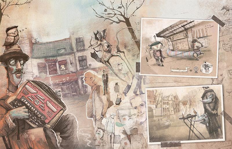 Художник-график Антонио Сегура Донат и его брат Карлос из Валенсии