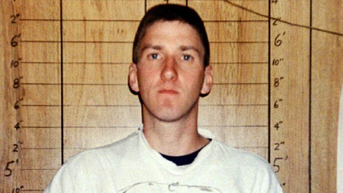 Тимоти Маквей, фоторобот, преступник