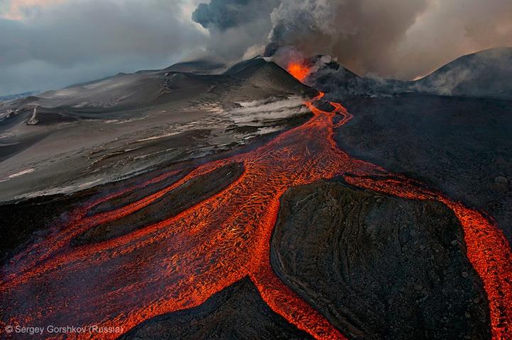 лучшее фото дикой природы, вулкан, Россия
