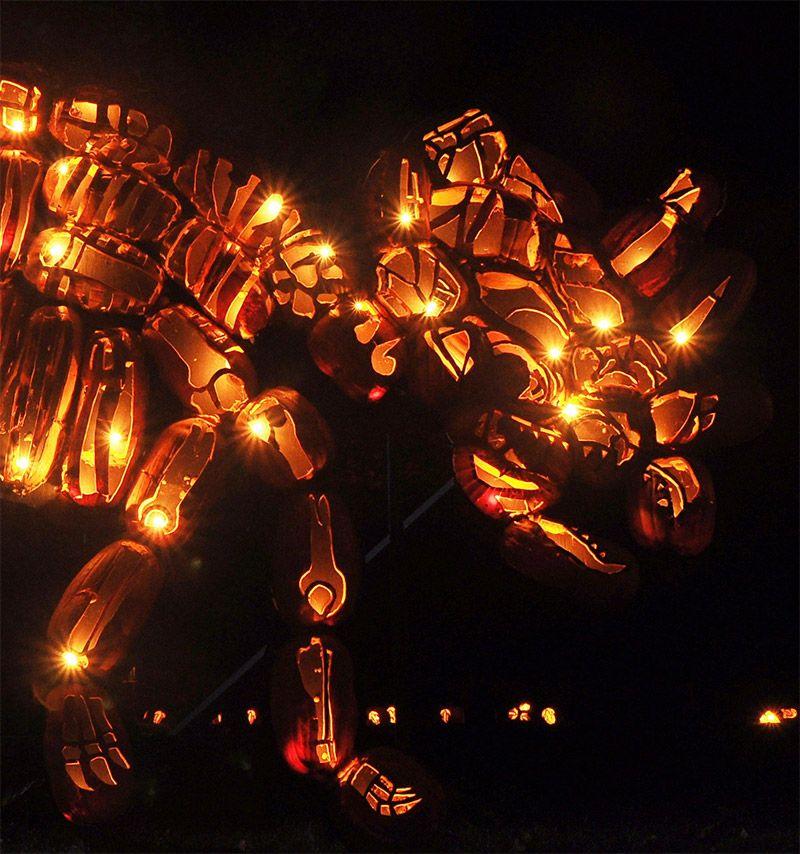 Удивительные скульптуры к Хэллоуину