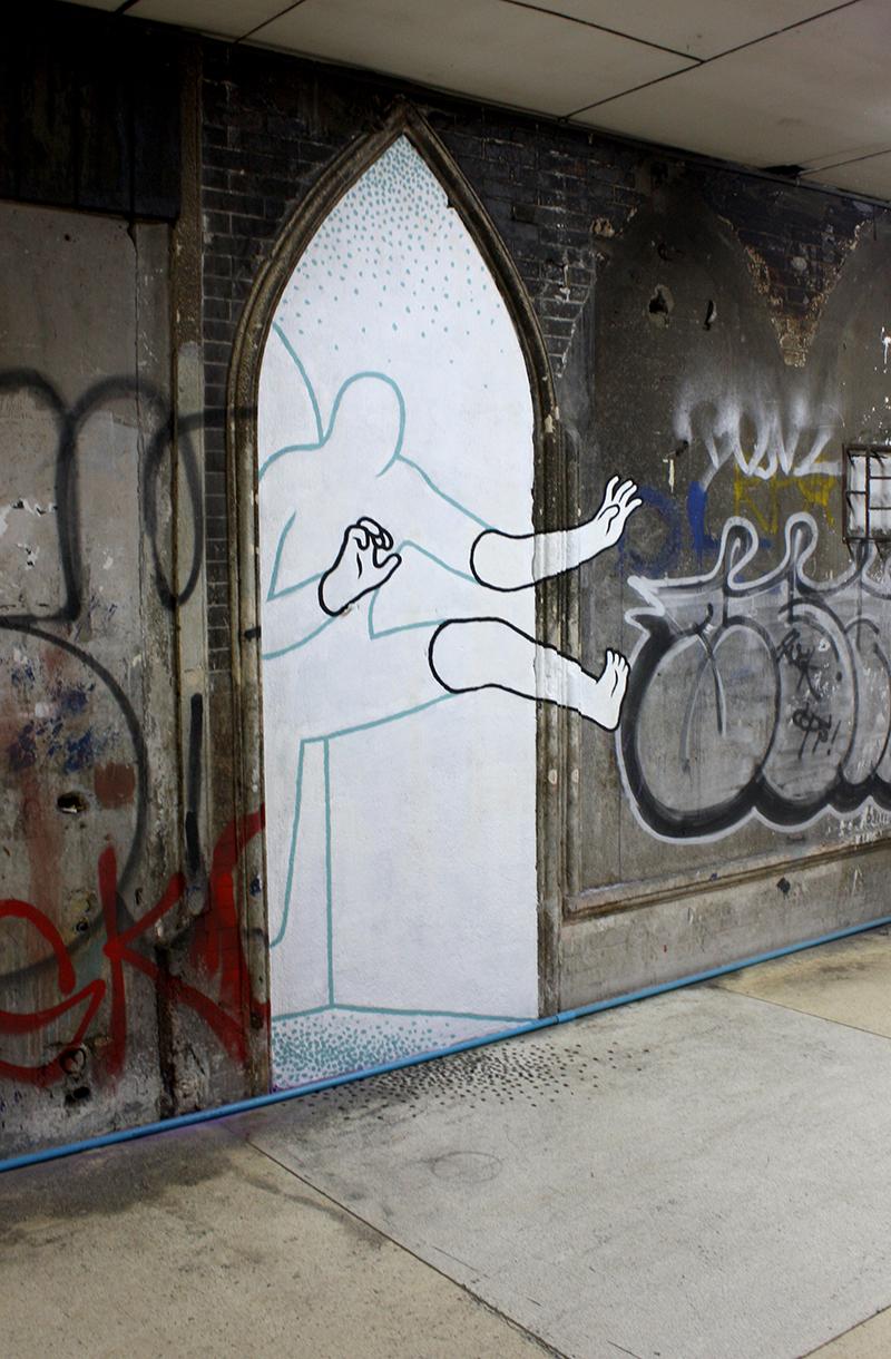 bangkok, Даан Ботлек, граффити