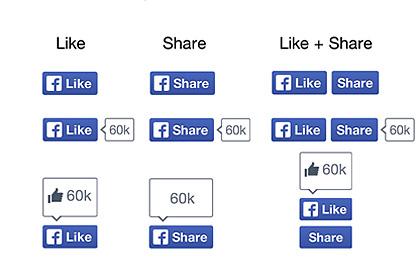 Facebook убрал большой палец с кнопки «лайк»