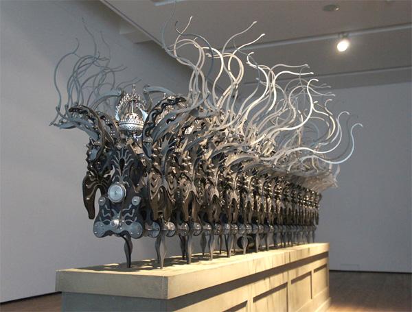 young, кинетические скульптуры