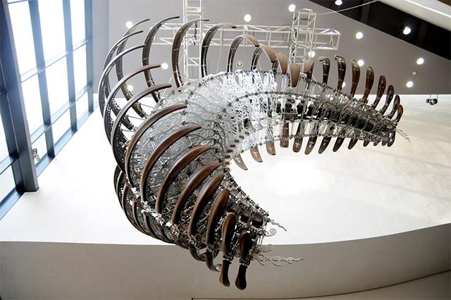 У-Рам Цой, кинетические скульптуры