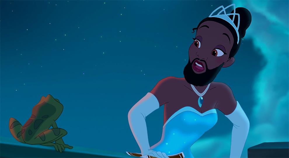 принцесса, борода